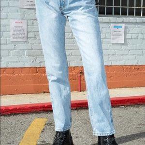 Brandy Melville Light Wash Molly jeans